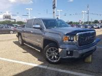 Certified. Light Steel Gray Metallic 2015 GMC Sierra