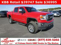 1-Owner New Vehicle Trade! SLT 6.2 V8 Crew Cab 4x4.