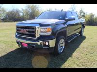 This BLACK 2015 GMC Sierra 1500 SLT might be just the