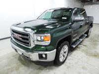 Options:  2015 Gmc Sierra 1500 Slt|Green|**Carfax Clean