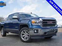 Options:  2015 Gmc Sierra 1500 Slt|Blue|Priced Below