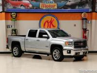 This Carfax 1-Owner GMC Sierra 1500 SLT is like new