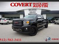 2015 GMC Sierra 1500 SLT Crew Cab truck with excellent