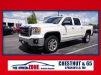 2015 GMC Sierra 1500 SLT in White Diamond Tricoat with