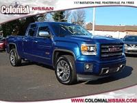 Here we have a 2015 GMC Sierra 1500 SLT which is a