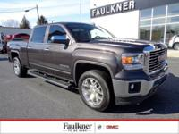 Light Steel Gray Metallic Sierra 1500 V8 SLT New Price!