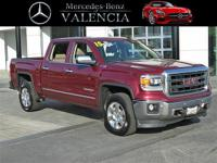 CARFAX One-Owner. Clean CARFAX. Red 2015 GMC Sierra