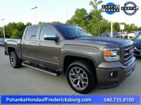 This 2015 Sierra is a one owner vehicle with a clean
