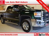 2015 GMC Sierra 2500HD SLT Green Bluetooth, Hands free