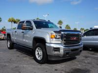2015 GMC Sierra 2500HD Crew Cab with Automatic