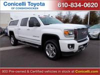 PREMIUM & KEY FEATURES ON THIS 2015 GMC Sierra 2500HD