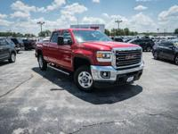 CARFAX One-Owner. Clean CARFAX. Fire Red 2015 GMC