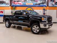 2015 GMC Sierra 2500HD SLT z71 4x4  Black 2015 GMC 2500