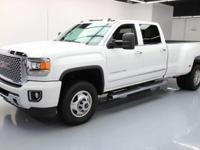 2015 GMC Sierra 3500 with Duramax 6.6L Turbocharged