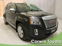 Clean CARFAX. 29/20 Highway/City MPG 2015 GMC Terrain