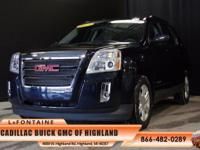 2015 GMC Terrain Denali in Black. GM Certified, Blind