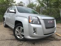 New Price! 2015 GMC Terrain Denali CARFAX One-Owner.