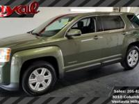 CARFAX One-Owner. Clean CARFAX. Dark Green 2015 GMC