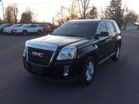 Certified. Black 2015 GMC Terrain SLT-1 FWD 6-Speed