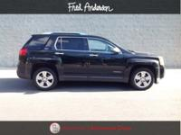 New Price! Clean CARFAX. Onyx Black 2015 GMC Terrain