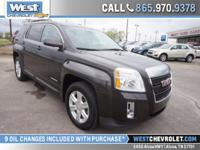This GMC Terrain has an attractive paint finish and