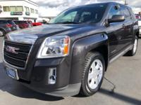 CARFAX One-Owner. 2015 GMC Terrain SLE-1 Black AWD,