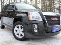 2015 GMC Terrain, Onyx Black, One Owner, OnStar* Safety