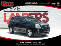 CARFAX One-Owner. Clean CARFAX. Black 2015 GMC Terrain