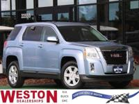 CARFAX One-Owner. 2015 GMC Terrain SLE-1 Blue One