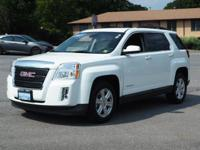 This 2015 GMC Terrain SLE features a stability control,