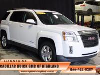 2015 GMC Terrain SLE-2 in White. Terrain SLE-2, GM