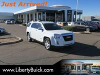 CARFAX One-Owner. Clean CARFAX. White 2015 GMC Terrain