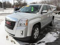Options:  2015 Gmc Terrain Sle-2 4Dr Suv|Silver|Looking