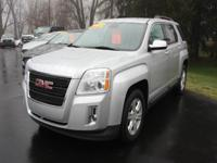 Options:  2015 Gmc Terrain Sle-2 4Dr Suv|Silver|Our One