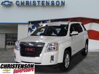 2015+GMC+Terrain+SLE-2+In+Summit+White+GM+CERTIFIED+*+C
