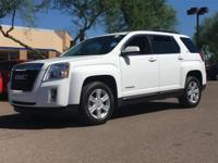 New Price! Clean CARFAX. Summit White 2015 GMC Terrain