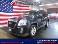 CARFAX One-Owner. Clean CARFAX. Blue 2015 GMC Terrain