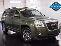 Options:  Pre-Owned 2015 Gmc Terrain Slt|Cypress Green