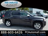 Clean CARFAX. Iridium Metallic 2015 GMC Terrain SLT-1