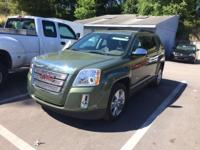 Certified. This 2015 GMC Terrain in Cypress Green
