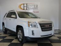 Options:  2015 Gmc Terrain Slt-2|White|Carfax