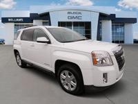 CARFAX One-Owner. Clean CARFAX. Summit White 2015 GMC