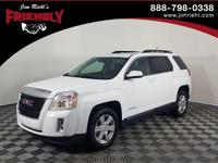 Recent Arrival! Terrain SLT-1, FWD, White, Brownstone