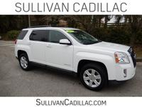 2015 GMC Terrain SLT-1 White CARFAX One-Owner. Clean