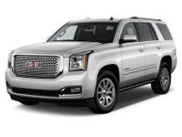 White 2015 GMC Yukon Denali 4WD 8-Speed Automatic