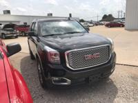 New Price! Certified. 4WD. Onyx Black 2015 GMC Yukon