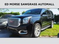 GMC Certified, CARFAX 1-Owner. Heated Leather Seats,