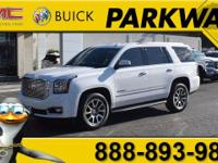 2015 GMC Yukon Denali Summit White EcoTec3 6.2L V8 New