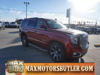 Recent Arrival! 2015 GMC Yukon Denali Crystal Red