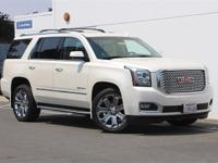 2015 GMC Yukon Denali 4x4!!! White Diamond!!!